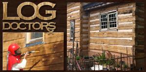 Log Home Repairs Log Home Repair